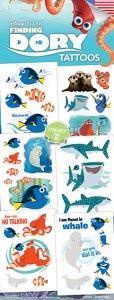 Finding DORY Tattoos - Vending Tattoo Refill