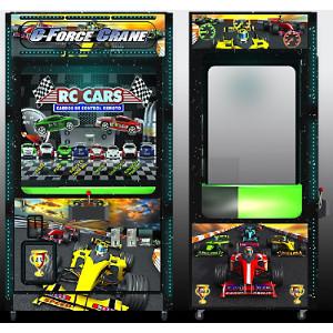 G-FORCE-Crane Skill Claw Arcade Merchandiser