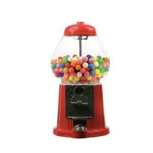 """11"""" Metal-Glass-Gumball-Candy Bulk Vending Dispenser"""
