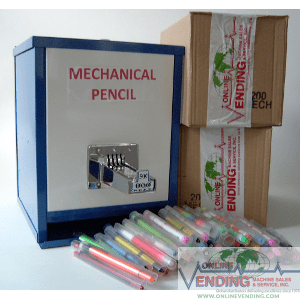 Mechanical Pencil Machine+2 Boxes Assort. Mech. Pencils Package Deal