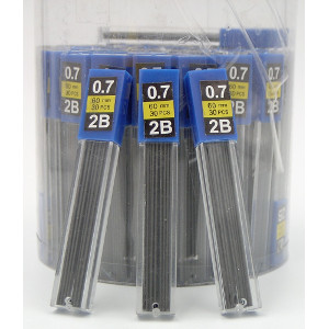 Mechanical Pencil Refill Lead 0.7 mm 72 Count