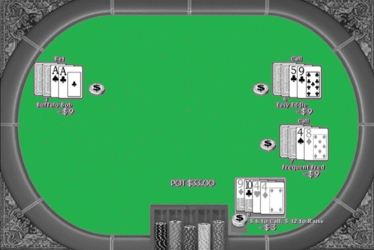 Seven Cards Stud Poker