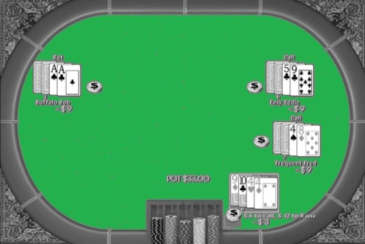Seven Cards Stud Poker