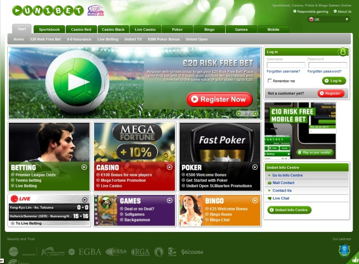 unibet sports - הימורי ספורט באתר יוניבט