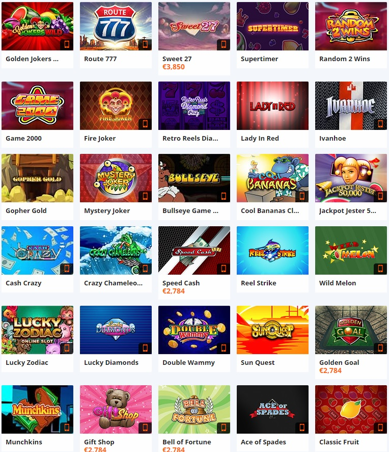 Betsson Slots Games