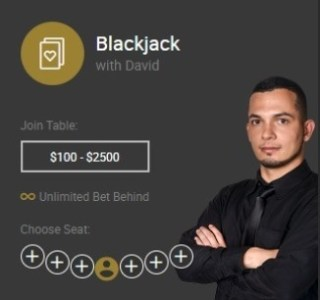 Blackjack with David