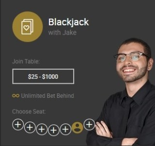 Blackjack with Jake