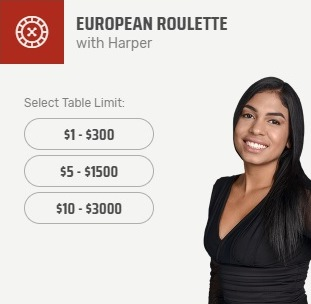 European Roulette With Harper