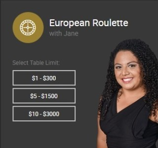 European Roulette with Jane