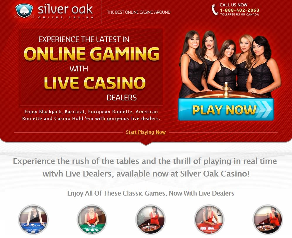 Silver Oak Live Dealers Casino
