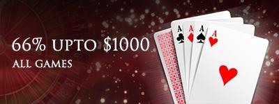 Lucky Red Casino WednesdayClaim a 66% deposit match Bonus