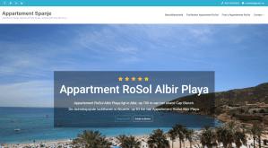 Appartement Spanje RoSol, airbnb website. Referenties onlinewebshop.eu