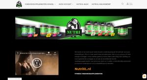 NutriXL voedingssupplementen / SEO pakket