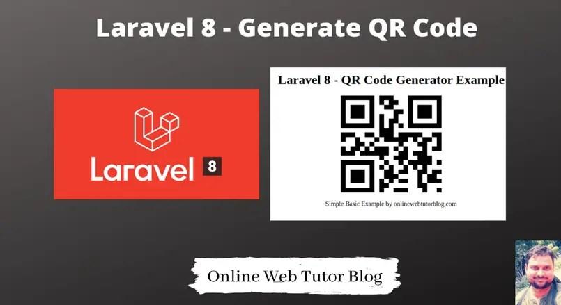 Generate-QR-Code-in-Laravel-8