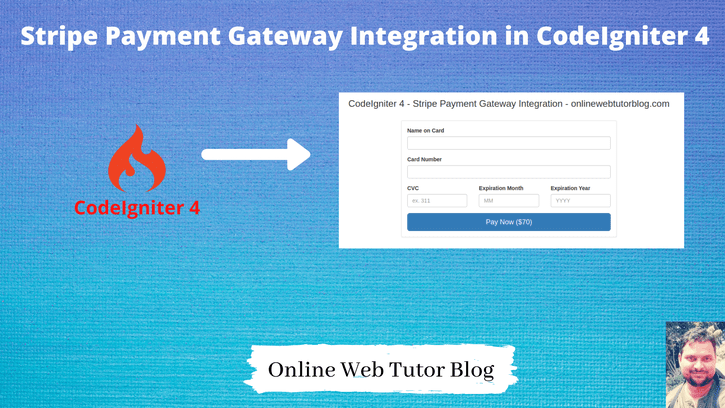 Stripe Payment Gateway Integration in CodeIgniter 4