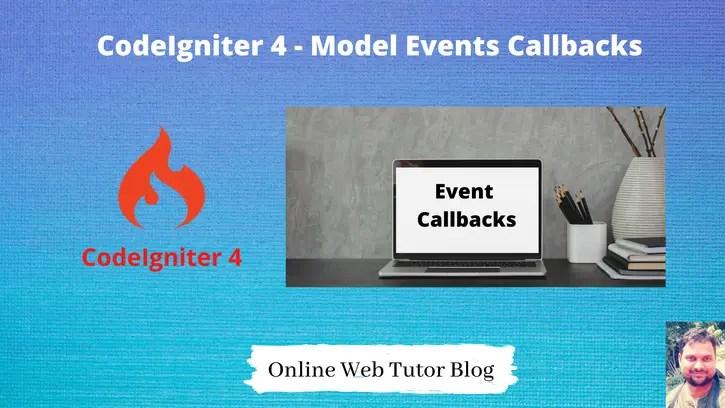 Complete-CodeIgniter-4-Model-Events-Tutorial