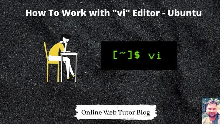 How-to-Work-with-vi-Editor-Ubuntu