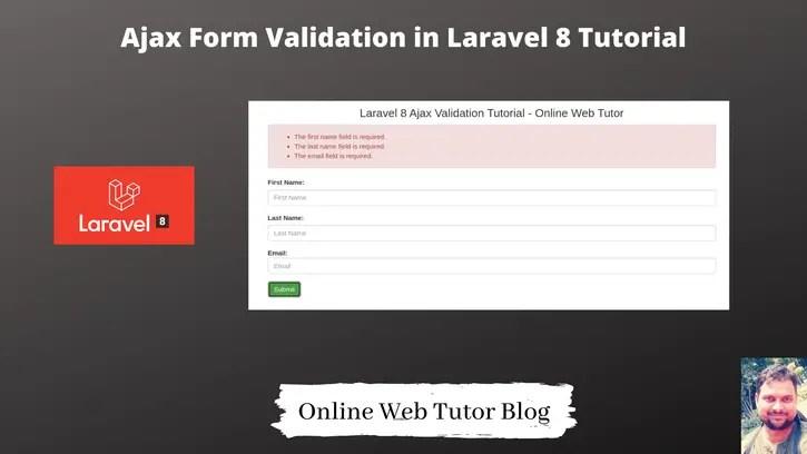 JQuery-Ajax-Form-Validation-in-Laravel-8-Tutorial