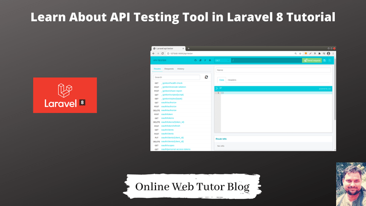 Learn-About-API-Testing-Tool-in-Laravel-8-Tutorial