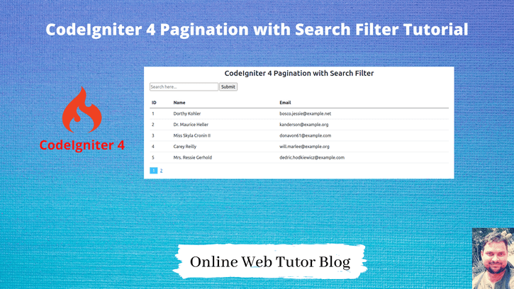 CodeIgniter-4-Pagination-with-Search-Filter-Tutorial