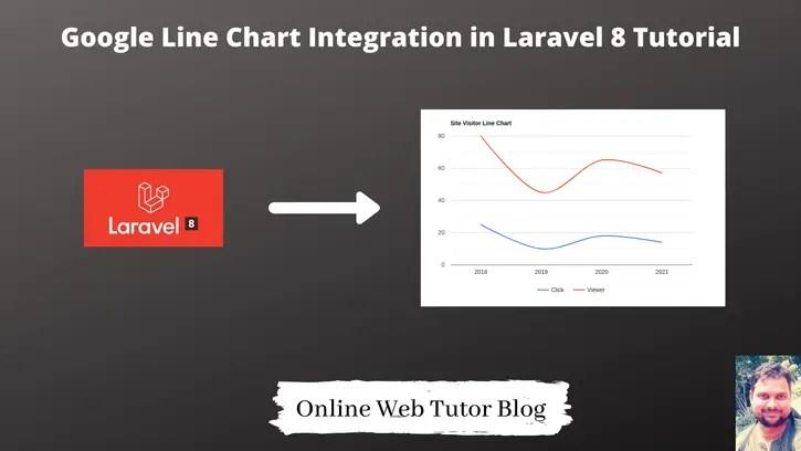 Google-Line-Chart-Integration-in-Laravel-8-Tutorial