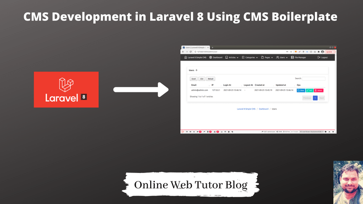 CMS-Development-in-Laravel-8-Using-CMS-Boilerplate