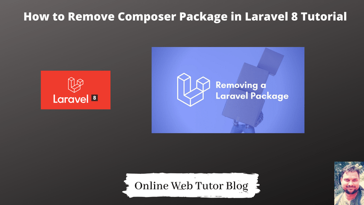 How-to-Remove-Composer-Package-in-Laravel-8-Tutorial
