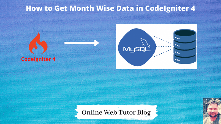 How-to-Get-Month-Wise-Data-in-CodeIgniter-4-Tutorial