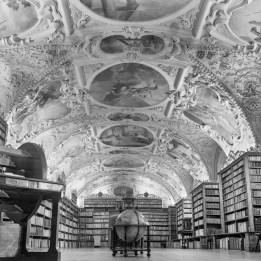 Theologischer Saal der Bibliothek des Klosters Strahov.