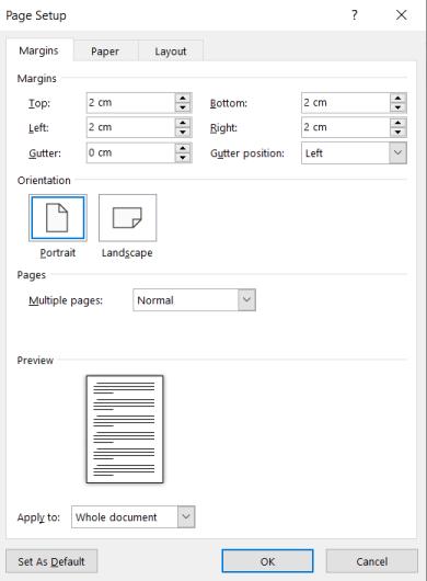 margin buku