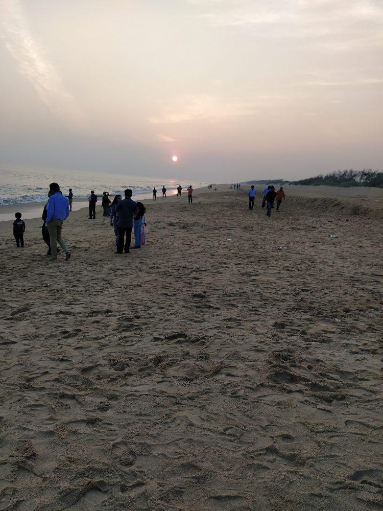 Chandrabhaga beach for Sunset view, near Konark