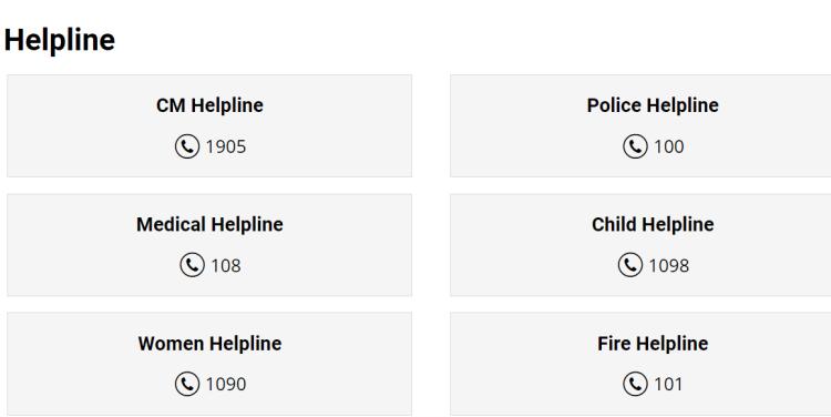 Emergency helpline numbers of Kumbh mela 2021 Haridwar