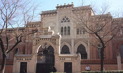 San Diego y San Vicente. Madrid Juan Bautista Lázaro de Diego. Onlyartravel