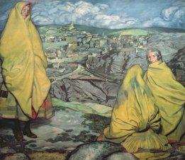 Mujeres de Sepúlveda. 1909 Zuloaga
