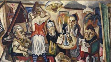 Retrato de familia. Beckmann.1920. Onlyartravel