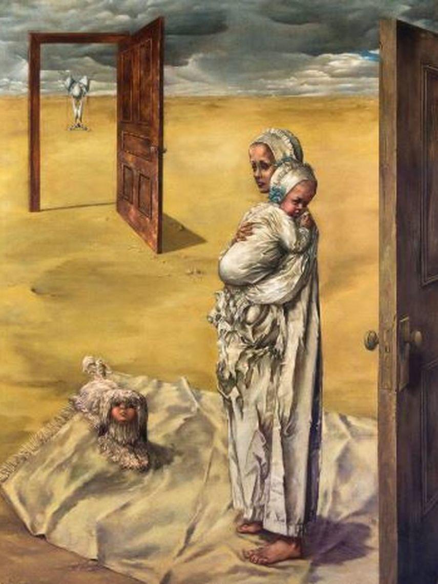 Dorothea Tanning. Detrás de la puerta, invisible, otra puerta. 7 de enero: último día para disfrutarla. Museo Reina Sofía.