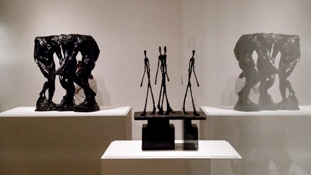 Rodin-Giacometti. Fundación Mapfre. Madrid. Hasta el 10 de Mayo.