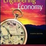 Download Free Economics Book Engineering Economy, 8 Edition  2017 Full English Book in PDF