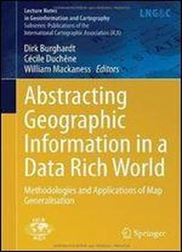 Abstracting Geographic Information In A Data Rich World ...