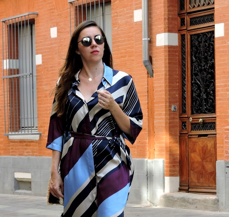 kimono dress onlybrightness 7 - Mango Kimono Dress