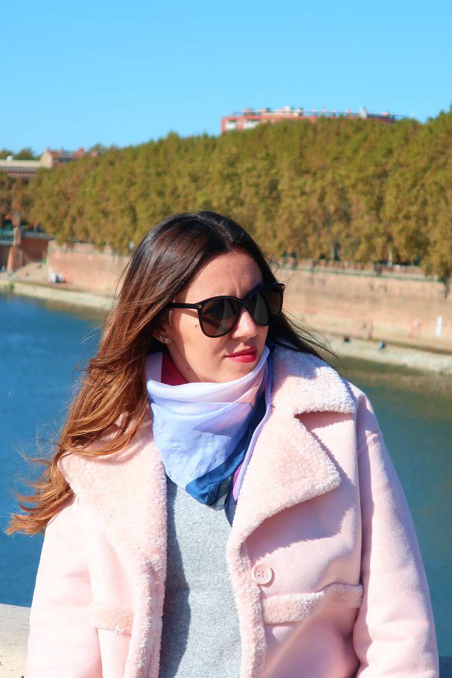 "manteau rose onlybrightness ""pinkcoat #manteaurose"