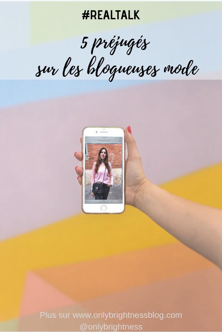 préjugés blogueuse mode onlybrightness blog #blogueusemode #onlybrightness #idéesreçues