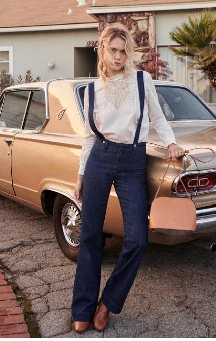 jeans flared finn sezane 115e onlybrightness