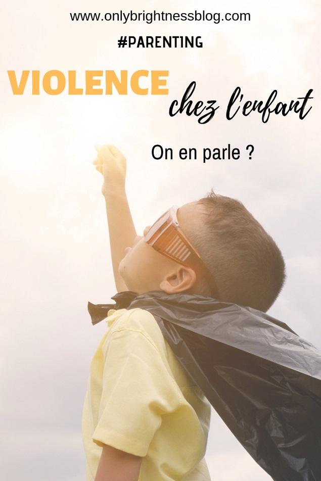 violence colère chez l'enfant