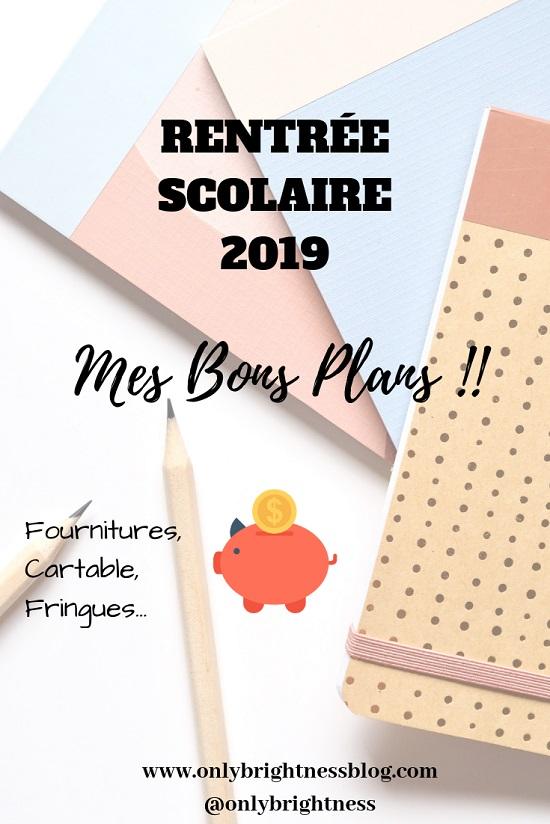 bon plan fourniture scolaire - Rentrée Scolaire 2019 : Mes Bons Plans !