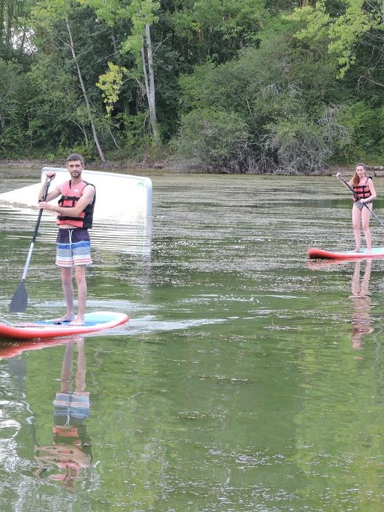 originalgreenpark paddle - Paddle à Toulouse : Découverte de la Base Nautique OriginalGreenPark !