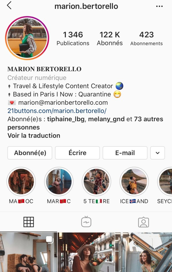 IMG 9557 - Portrait de Femme : Marion Bertorello