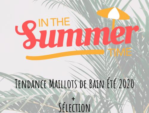 Tendance Maillots de Bain Été 2020