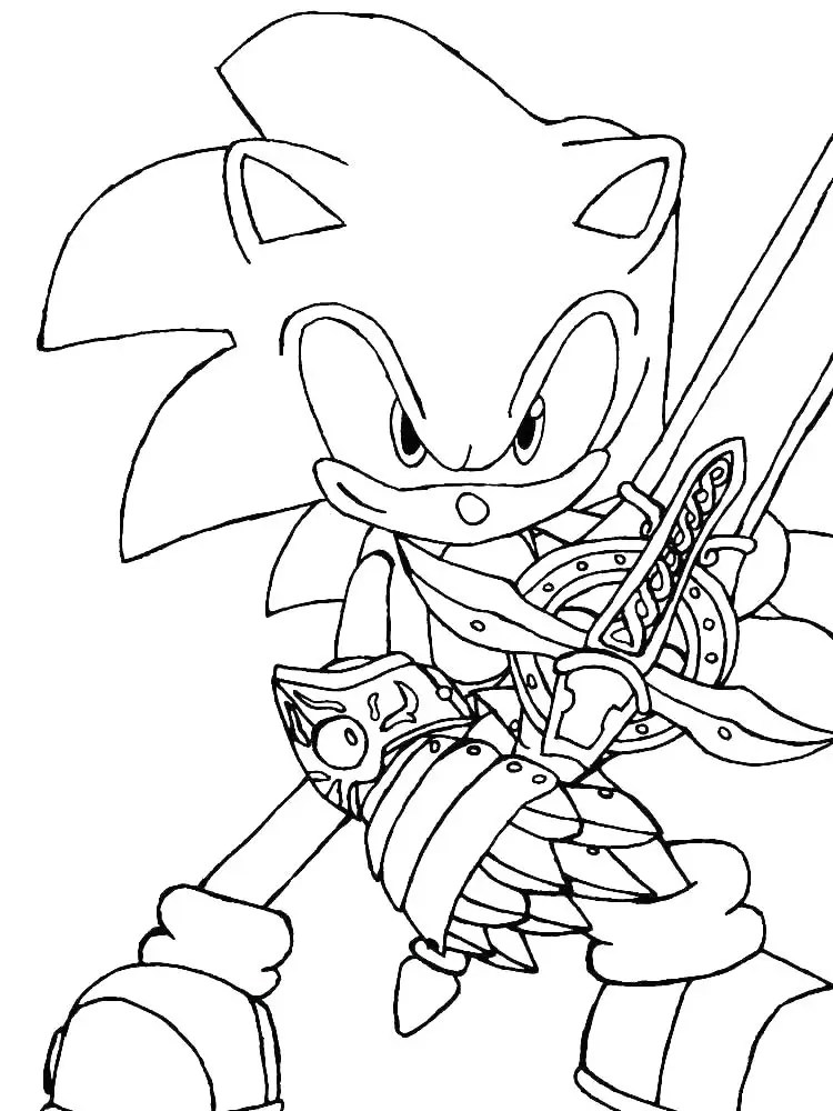 Free Printable Sonic Exe Coloring Pages - Novocom.top