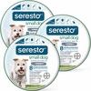 3-PACK Seresto Flea & Tick Collar for Small Dogs